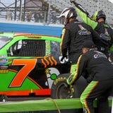 Driver femminile Danica Patrick di arresto NASCAR del pozzo Immagini Stock Libere da Diritti