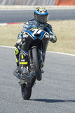 Driver Foggia, Dennis. Moto3. Junior Team VR46. FIM CEV Repsol Royalty Free Stock Photo