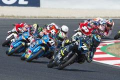 Driver Foggia, Dennis. Moto3. Junior team VR46. FIM CEV Repsol Royalty Free Stock Image