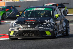 Driver Gabor WEBER. SEAT LEON EUROCUP. Royalty Free Stock Image
