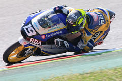 Driver Gabriel Rodrigo. Team RBA Racing. Stock Image