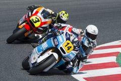 Driver Garzo Vicent, Hector. Moto3. Wimu Team. FIM CEV Repsol Royalty Free Stock Image