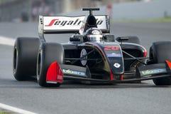 Driver Giuseppe Cipriani. Formula V8 3.5. At Circuit of Barcelona. Montmelo, Spain. November 6, 2016 Stock Photos