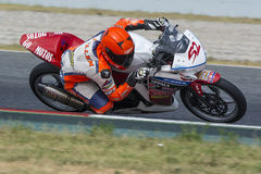 Driver Guillem Erill. Honda CBR250R. Stock Images