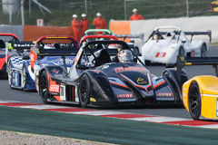 Driver Henk THUIS. Radical European Masters Royalty Free Stock Images