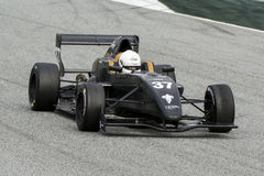 Driver HERIAU Gilles. Team FORMULA MOTORSPORT Royalty Free Stock Photo
