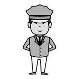 Driver hotel service isolated icon Stock Photography