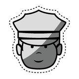Driver hotel service isolated icon Royalty Free Stock Images