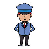 Driver hotel service isolated icon Stock Photo