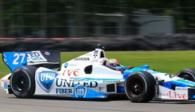 Driver James Hinchcliffe Stock Images