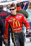 Driver Jamie McMurrary di NASCAR Immagine Stock