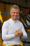 Driver Jan Lammers portrait. LE CASTELLET, FRANCE, April 7, 2018 : Racing cars and teams during the training sessions for World Endurance Car Championship Stock Photo
