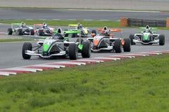 Driver Jean-Baptiste Mela.  Championnat de France F4 Royalty Free Stock Photography
