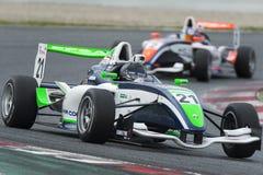 Driver Jean-Baptiste Mela. Championnat de France F4 Stock Photography