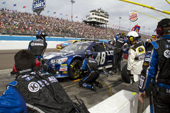 NASCAR Sprint Cup Jimmie Johnson Pit Stop Stock Images