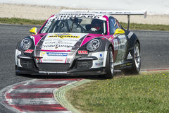 Driver Joffrey De Narda. Team Sebastien Loeb Racing Royalty Free Stock Image