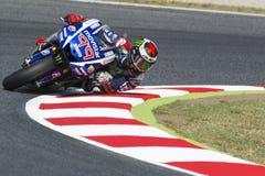 Driver Jorge Lorenzo. Yamaha Team Royalty Free Stock Image