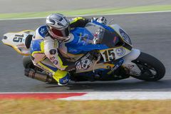 Driver Jorge Vilela. BMW S1000RR Stock Photography