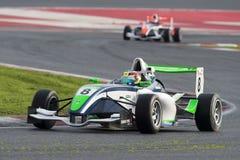 Driver Jose Sierra.  Championnat de France F4 Royalty Free Stock Image