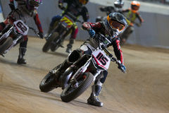 Driver Julen Avila. Dirt Track Superprestigio Royalty Free Stock Photos