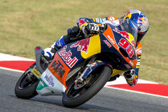 Driver KAREL HANIKA. TEAM RED BULL KTM AJO. Stock Image