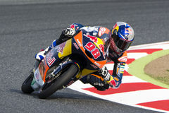 Driver KAREL HANIKA. TEAM RED BULL KTM AJO. Stock Photos