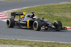 Driver Kevin Magnussen. Team Renault Stock Images