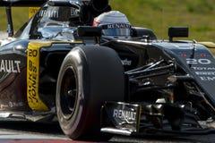Driver Kevin Magnussen.  Team Renault Sport Stock Photo