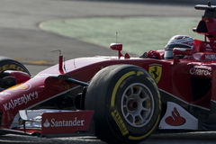 Driver Kimi Raikkonen. Team Ferrari Stock Photography