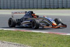 Driver Laurents Horr. Dutt Motorsport Team Stock Photography