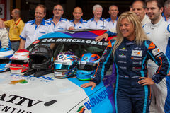 Driver Liesette Braams. Las Moras Racing Team Stock Photography