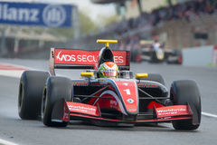 Driver Louis Deletraz. Formula V8 3.5 Royalty Free Stock Images