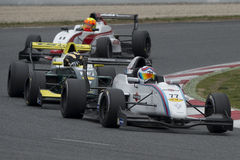 Driver Luis Sanjuan. Challenge formula Royalty Free Stock Photography