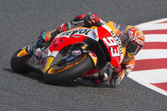Driver Marc Marquez. Repsol Honda Team Stock Image