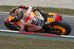Driver Marc Marquez. Repsol Honda Team Royalty Free Stock Photography