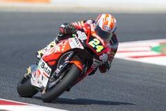 Driver MARCEL SCHROTTER. DYNAVOLT INTACT Team. Monster Energy Grand Prix of Catalonia Stock Photos