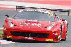 Driver Marco Cioci. International GT Open. Stock Photo