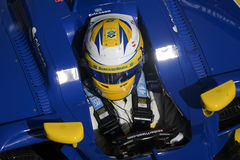 Driver Marcus Ericsson. Team Sauber F1 Royalty Free Stock Image