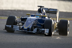Driver Marcus Ericsson. Team Sauber F1 Royalty Free Stock Photo