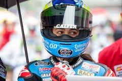 Driver Maria Herrera Team Estrella Galicia FIM CEV Repsol Immagini Stock