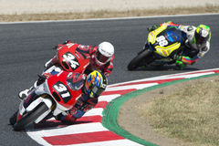 Driver Masaki, Kazuki. Moto3. Asia talent Team. FIM CEV Repsol Royalty Free Stock Image