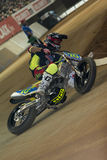 Driver Matoshi Ohmori. Dirt Track Superprestigio competition Stock Images