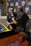 Driver Matt Kenseth di inseguimento della tazza di sprint di NASCAR Fotografia Stock