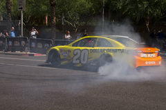 Driver Matt Kenseth di inseguimento della tazza di sprint di NASCAR Fotografia Stock Libera da Diritti
