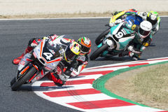 Driver Matthias Meggle. Moto3. Dynavolt Team. FIM CEV Repsol Stock Images