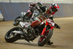 Driver Mattia Pasini. Dirt Track Superprestigio Stock Images