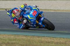 Driver Maverick Vinales. Suzuki Team Stock Photography