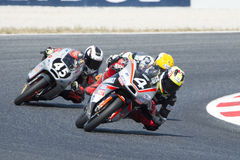Driver Meggle, Matthias. Moto3. Dynavolt Team. FIM CEV Repsol Stock Images