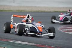 Driver Michael Benyahia. Championnat de France F4 Royalty Free Stock Photography