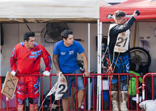 Driver Miquel Puigdelliura Abarca. MX  Team. Royalty Free Stock Photo